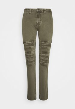INDICODE JEANS - WEAVER - Slim fit jeans - army