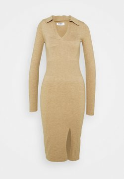 4th & Reckless - ALBANDY DRESS - Vestido de punto - beige