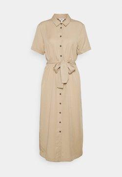 Object - OBJTILDA ISABELLA DRESS  - Vestido camisero - humus