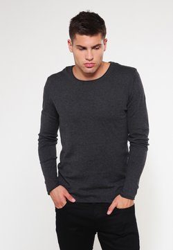 Selected Homme - SLHDOME CREW NECK - Pullover - antracit