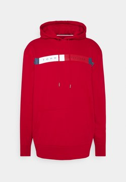Tommy Hilfiger - LOGO HOODY - Sweat à capuche - red