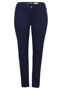 Miss E - ELISE - Slim fit jeans - dark blue