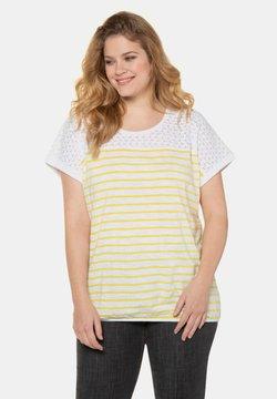 Ulla Popken - T-Shirt print - gelb