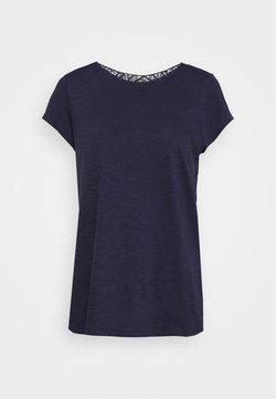 s.Oliver - T-Shirt basic - dark steel blue