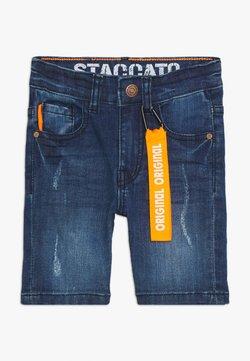 Staccato - BERMUDAS KID - Jeansshort - mid blue denim