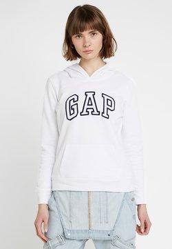 GAP - Bluza z kapturem - white