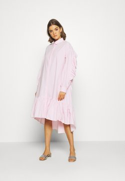 YAS - YASDANOLA MIDI SHIRT DRESS - Freizeitkleid - cradle pink