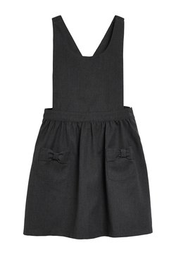 Next - BOW PINAFORE  - Freizeitkleid - grey