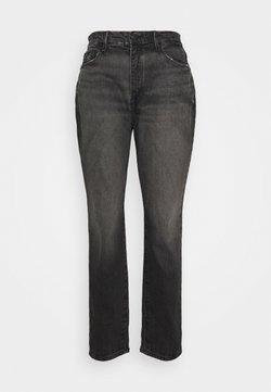 Good American - GOOD GIRL HIGH - Jeans baggy - black