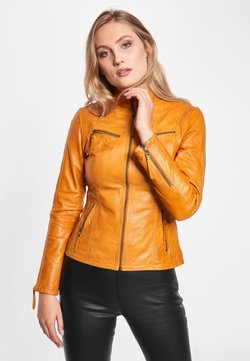 BTFCPH - STACEY - Veste en cuir - golden yellow