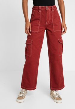BDG Urban Outfitters - CONTRAST SKATE - Relaxed fit jeans - brick