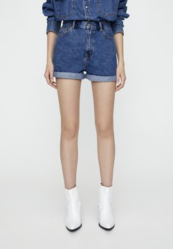 PULL&BEAR - Jeans Shorts - blue