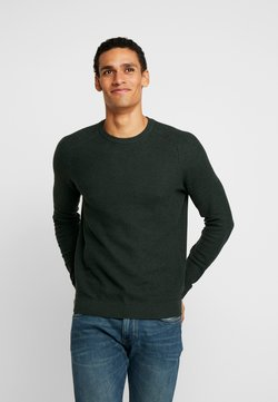 Esprit - HONEYCOMB - Strickpullover - dark green