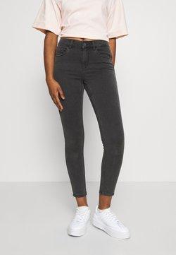 Vero Moda Petite - VMSEVEN SHAPE UP  - Jeans Skinny Fit - dark grey denim