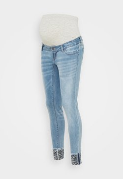 MAMALICIOUS - MLMOSS SLIM  - Jeans Slim Fit - light blue denim