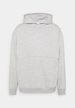 Curare Yogawear - HOODY - Sweatshirt - lightgrey melange