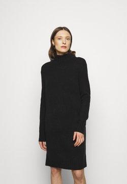 J.CREW - MOCKNECK SWEATER DRESS - Vestido de punto - black