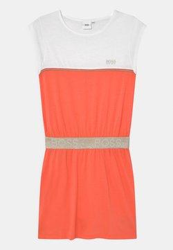 BOSS Kidswear - Jerseykleid - peach