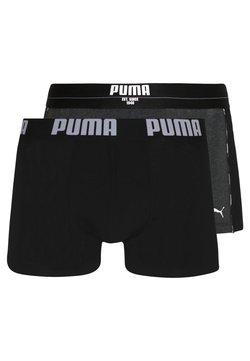 Puma - STATEMENT 2 PACK - Shorty - black