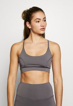 South Beach - STRAP BRA - Sujetador deportivo - smoky grey