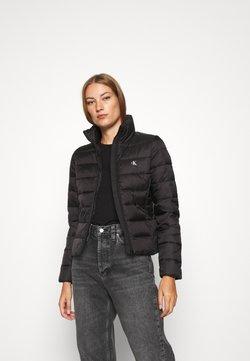 Calvin Klein Jeans - LOGO FITTED PUFFER - Winterjacke - black