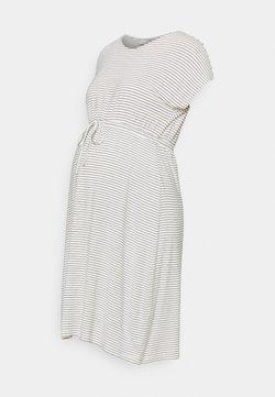 MAMALICIOUS - MLALISON DRESS  - Jerseykleid - snow white / black