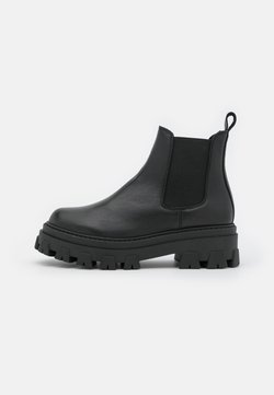 Office - ASSURE CHUNKY CHELSEA BOOT - Plateaustiefelette - black