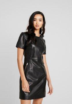 ONLY - ONLLENA LEATHER DRESS OTW - Etui-jurk - black
