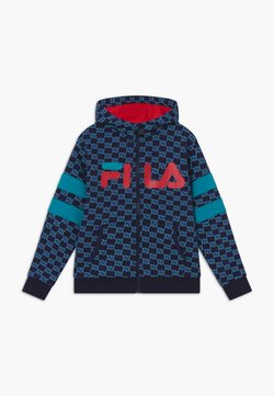 Fila - ANTONIO TRACK JACKET - veste en sweat zippée - black iris/capri breeze