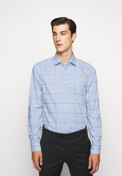 Michael Kors - CHECK EASY CARE SLIM  - Businesshemd - light blue