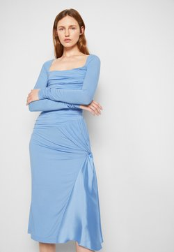 N°21 - ABITO - Sukienka z dżerseju - cielo