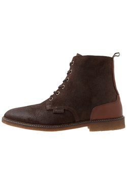 Barbour - MOJAVE LACE UP BOOT - Schnürstiefelette - dark brown