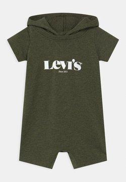 Levi's® - HOODED LOGO GRAPHIC  - Combinaison - olive night heather