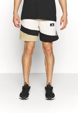 adidas Performance - Krótkie spodenki sportowe - white