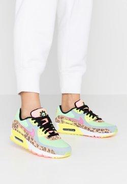 Nike Sportswear - AIR MAX 90 - Sneakers laag - white/illusion green/laser fuchsia/black