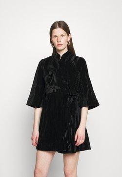 Alexa Chung - KIMONO WRAP DRESS - Cocktailkjoler / festkjoler - black