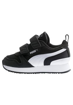 Puma - Lauflernschuh - black-white