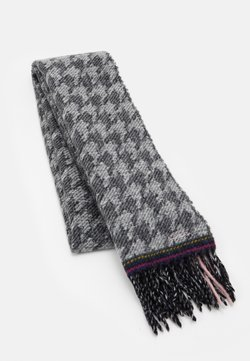 Paul Smith - WOMEN SCARF DOUBLE HOUNDSTOOTH - Schal - black/white/pink