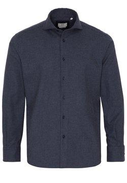 Eterna - ETERNA LANGARM HEMD MODERN FIT - Businesshemd - blau/grau