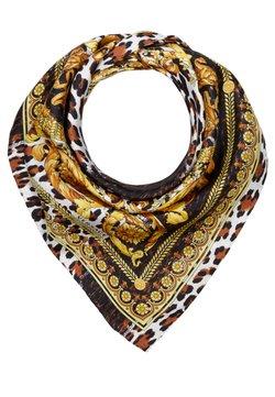 Versace - FOULARD - CARRE - Huivi - marrone oro bianco