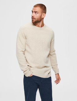 Selected Homme - Strickpullover - kelp