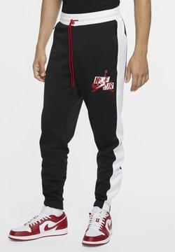 Jordan - Jogginghose - black/white