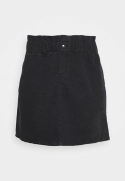 Noisy May Curve - NMJUDO PAPBACK SKIRT - A-Linien-Rock - black