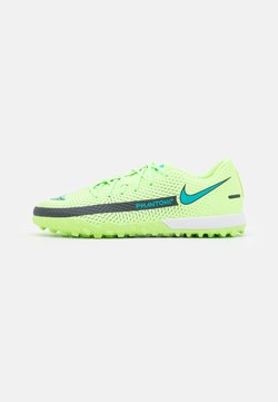 Nike Performance - PHANTOM GT ACADEMY TF - Hiekkakengät - lime glow/aquamarine