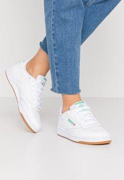 Reebok Classic - CLUB C 85 - Sneakersy niskie - white/green