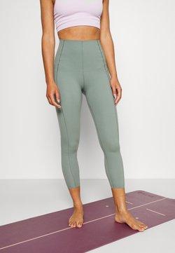 Sweaty Betty - POWER HIGH WAIST 7/8 WORKOUT LEGGINGS - Tights - heath green