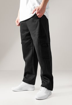 Urban Classics - CARGO SWEATPANTS - Jogginghose - black