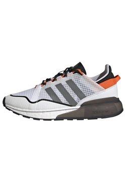 adidas Originals - ZX 2K BOOST PURE - Sneaker low - ftwr white grey three orange