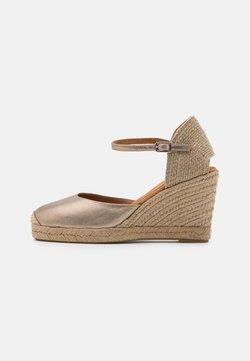 Unisa - CASTILLA - Platform sandals - mumm