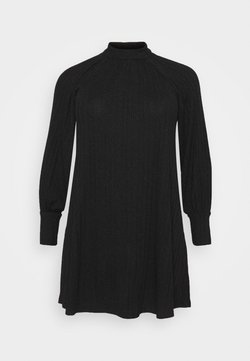 Pieces Curve - PCDALILAH DRESS - Vestido informal - black